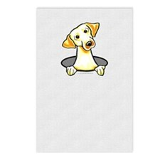 Yellow Lab Hole Postcards (Package of 8)