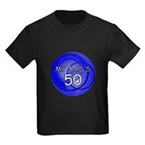My dads 50 Kids T-shirts (Dark)