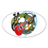 Gibson les paul Bumper Stickers