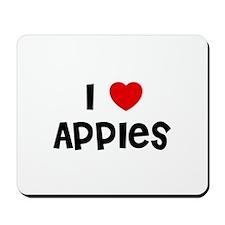 I * Apples Mousepad