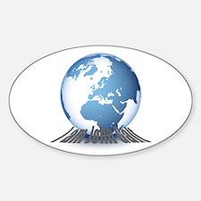 I am John Galt Sticker (Oval)
