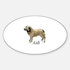 Cute Aidi Sticker (Oval)