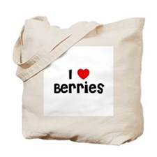 I * Berries Tote Bag