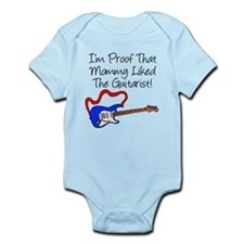 Proof Mommy Liked Guitarist B Onesie