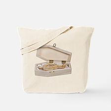 Casket Occupied Tote Bag
