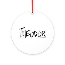 Theodor Ornament (Round)