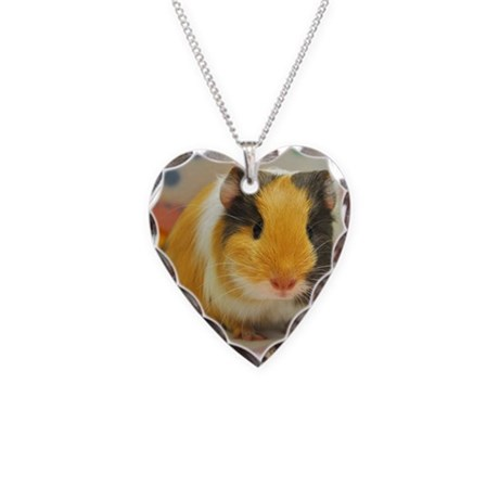 Baby Autumn Necklace Heart Charm
