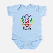 LGBTQ Lotus Flower Infant Bodysuit