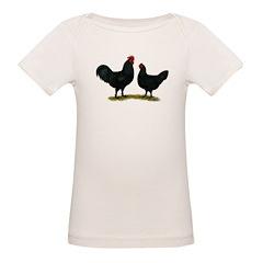 Black Java Chickens Tee