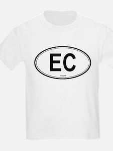 Ecuador (EC) euro Kids T-Shirt