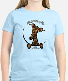 Brindle Greyhound IAAM T-Shirt