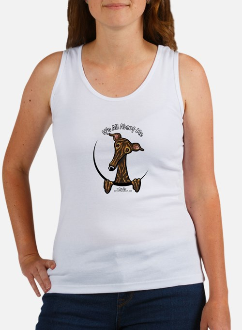 Brindle Greyhound IAAM Women's Tank Top