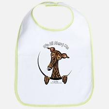 Brindle Greyhound IAAM Bib
