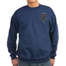 Brindle Greyhound IAAM Pocket Sweatshirt
