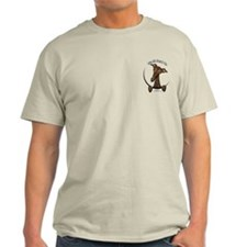Brindle Greyhound IAAM Pocket T-Shirt