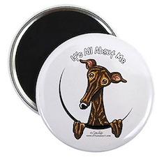 Brindle Greyhound IAAM Magnet