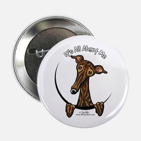 """Brindle Greyhound IAAM 2.25"""" Button"""