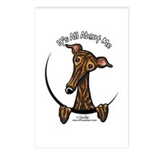 Brindle Greyhound IAAM Postcards (Package of 8)
