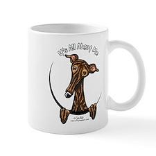 Brindle Greyhound IAAM Mug