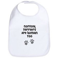 Norfolk Terriers Are Human To Bib