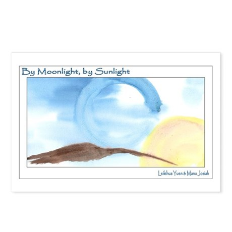 By Moonlight, By Sunlight Postcards (Package of 8)