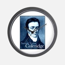 Samuel Taylor Coleridge Wall Clock