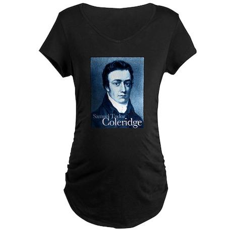 Samuel Taylor Coleridge Maternity Dark T-Shirt