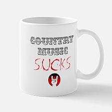Country Music Sucks Mug