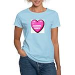 I Love My Racking Horse Women's Pink T-Shirt