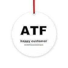 ATF light Ornament (Round)