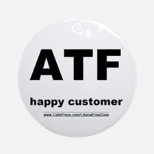 ATF light Ornament (Round)
