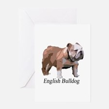 Cute Bulldogs Greeting Card