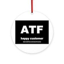 ATF dark Ornament (Round)