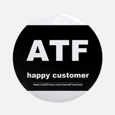 ATF dark Ornament (Round)
