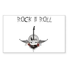 rock and roll Decal