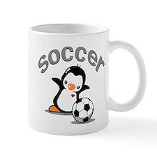 Soccer Penguin (6) Mug