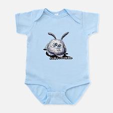 Dust Bunny Portrait Infant Bodysuit