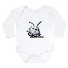 Dust Bunny Portrait Long Sleeve Infant Bodysuit