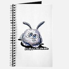 Dust Bunny Portrait Journal