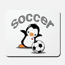 Soccer Penguin (6) Mousepad