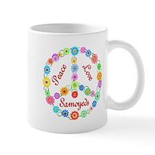 Peace Love Samoyeds Mug