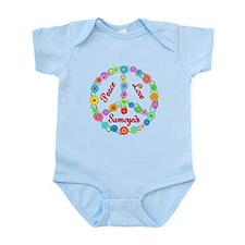Peace Love Samoyeds Onesie