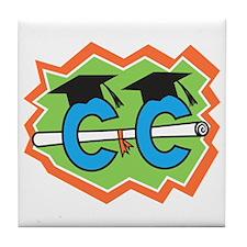 Cross Country Grad Tile Coaster