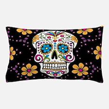 Cute Mexican sugar skulls Pillow Case