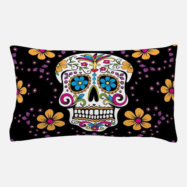 Cute Sugar skulls Pillow Case
