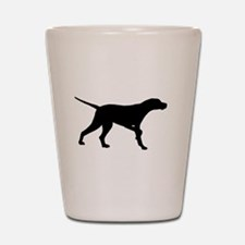 Pointer Dog Shot Glass