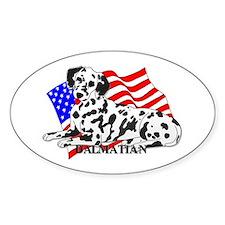 Dalmatian USA Decal