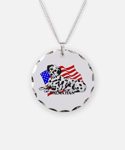 Dalmatian USA Necklace
