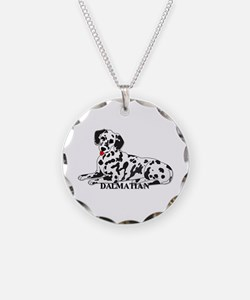 Cartoon Dalmatian Necklace