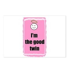 I'M THE GOOD TWIN Postcards (Package of 8)